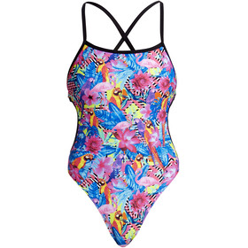 Funkita Cut Away One Piece Swimsuit Women colourful